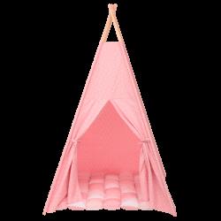 Cort teepee stelute roz