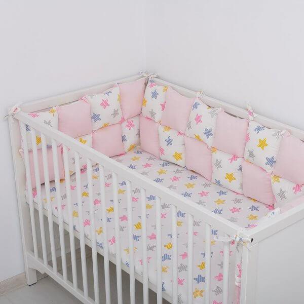 Aparatori patut bebelusi stelute roz