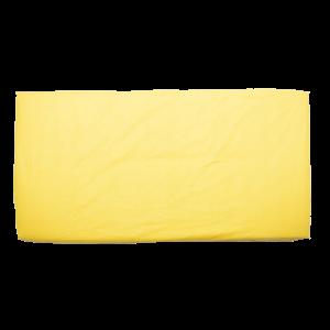 Cearsaf patut 120×60 cm galben