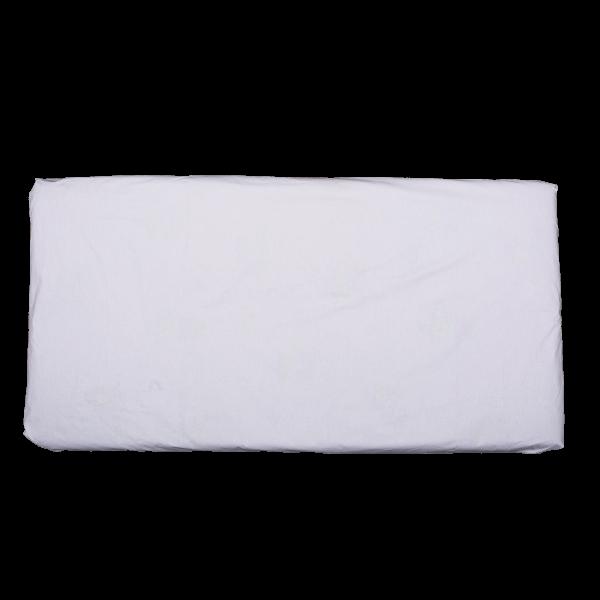 Cearsaf patut 120×60 cm alb